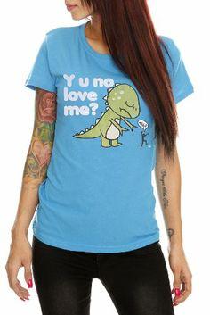 Goodie Two Sleeves Y U No Love Me? Girls T-Shirt