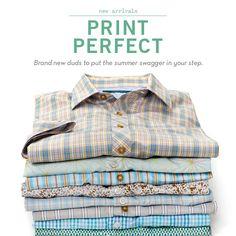 Perry Ellis Print Perfection...
