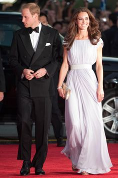 The Duchess of Cambridge. 9 July 2011 BAFTA Brits to Watch Event. Wearing Alexander McQueen