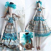 Интерьерная кукла тильда Кати – купить или заказать в интернет-магазине на Ярмарке Мастеров | Милая интерьерная куколка Кати в вельветовом…