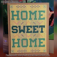 Home Sweet Home perler beads by mini_minako