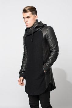 Hoodie OLO in schwarz für Herren -1