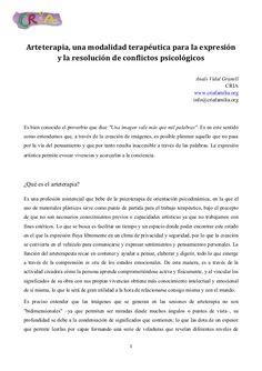 Arteterapia resolucion conflictos