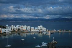 Piso Livadi Village, Cyclades Greece www. Paros Greece, Greek Islands, New York Skyline, Places To Visit, River, Outdoor, Greek Isles, Outdoors, Outdoor Living