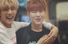 Minhyuk and kihyun