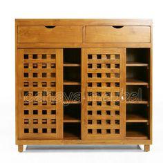 Shoe Storage Cabinet, Locker Storage, Mudroom, Wine Rack, Lockers, House Design, Interior, Furniture, Shoes
