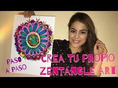 Como Dibujar Zentangle Art - Tutorial - Mayra Alejandra - YouTube