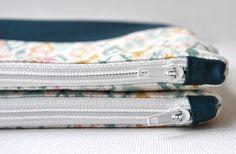 SewforSoul: Zipper Pouch End Tab Tutorial Zipper Bags, Zipper Pouch, Zip Pouch Tutorial, Purse Tutorial, Custom Purses, Bag Patterns To Sew, Easy Patterns, Tote Pattern, Sewing Patterns