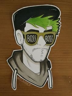 """itsomanot: """" Cool boi™ ____________________________________________ Finally got some time to draw 👌 """" glory greatest bossness! Jacksepticeye Drawings, Jacksepticeye Memes, Pewdiepie, Markiplier, Cartoon Junkie, Cute Drawlings, Cryaotic, Jack And Mark, Youtube Gamer"""