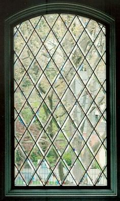 Beautiful leaded glass window