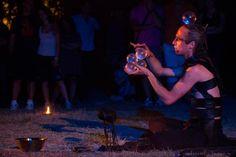 Contact juggling al Triskell Celtic Festival