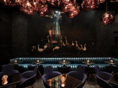 Tom Dixon's cocktail den design explores texture, distortion and reflection - News - Frameweb