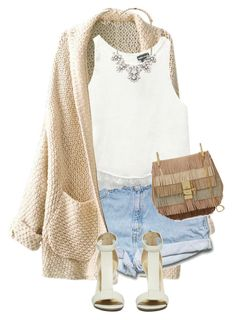 """""""Untitled #2576"""" by carmelaromio ❤ liked on Polyvore featuring Wet Seal, Forever 21 and Chloé"""
