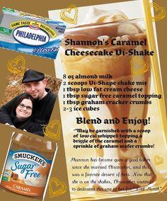 Shannon's Caramel Cheesecake Vi-Shake!!  Get your Vi-shape shake mix today at www.spunkyatsixty.bodybyvi.com