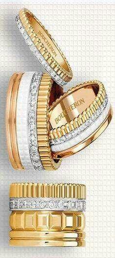 the boucheron quatre stackable ring