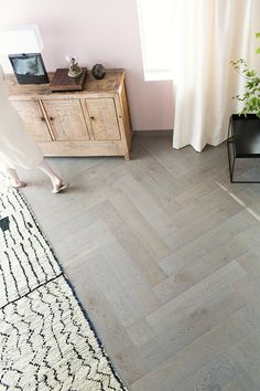 Timberwise Eik Herringbone Light Yllas