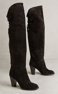 Miss Albright Fulton Knee Boots #anthrofave