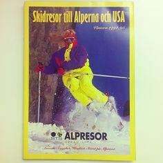 Det var bättre förr.. eller? emoji #stsalpresor #tbt #throwbackthursday #1994 #1995 #skiing #90s