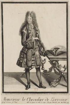 His Highness Monsieur le Chevalier de Lorraine.