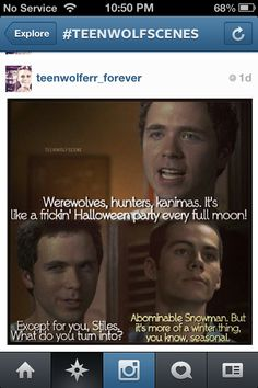 Stiles is literally my hero.