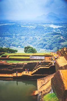 Atop of the Sigiriya Rock Fortress Sri Lanka #7 by Son-of-the-Morning-Light #ErnstStrasser #SriLanka
