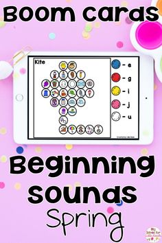 Need a fun, interactive activity to get your students engaged in practicing beginning sounds of words? Digital Boom cards are a no prep, fun, & hands on way to get your students engaged in learning! Students look at the code on the side and match the letters to the first sound of each picture. Great for early finishers and phonics practice! No worksheets needed! These are perfect for Pre-K or Kindergarten literacy centers during Spring!