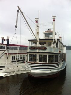 Almost 50 years old! The Lady of the Lake hibernating in Williams Bay, WI. Gage Marine and Lake Geneva Cruise Line.