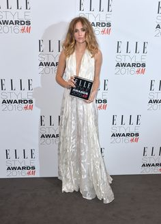 Suki Waterhouse Wearing Camilla and Marc - 2016 The Elle Style Awards - http://becauseiamfabulous.com/2016/02/26/3191427/