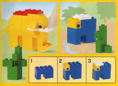 Old lego building instructions