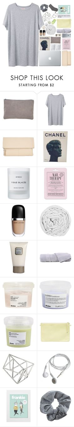 """""""SOMEBODY I CAN KISS"""" by trnslucid ❤ liked on Polyvore featuring American Apparel, Organic by John Patrick, Kin by John Lewis, Chanel, Byredo, Love 21, Marc Jacobs, The Fine Bedding Company, Laura Mercier and Hamam"""