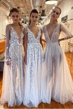 #MUSE beauties from #BERTA NYC Berta Bridal, Bridal Gowns, Muse By Berta, Bridesmaid Dresses, Wedding Dresses, Dream Dress, Bridal Style, Wedding Styles, Wedding Ideas