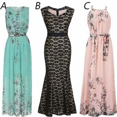 Gorgeous dresses from Fashion Mia!❤ These are must haves for the summer.