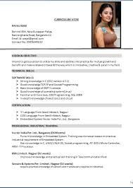Resume Format For Cabin Crew Excellent Cabin Crew Resume