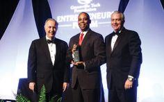Walter Davis with CertusBank at the Entrepreneurs Forum Gala - Upstate Business Journal