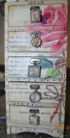Simply Fresh Arts: Decoupage Tutorial - pretty little box (not really a step by step tutorial though!
