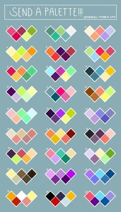 New Art Reference Color Ideas