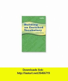 Building an Enriched Vocabulary Annotated Teachers Edition Grade 10 (9780821581278) William Sadlier, Jerome Shostak , ISBN-10: 0821581279  , ISBN-13: 978-0821581278 , ASIN: B006ABBL1K , tutorials , pdf , ebook , torrent , downloads , rapidshare , filesonic , hotfile , megaupload , fileserve