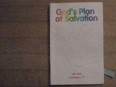 WONDERFUL BOOK ON GOD'S PLAN OF SALVATION