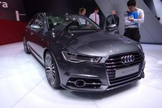 The New 2016 #Audi A6 was just revealed! What do you think of the subtle but stylish design changes?