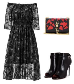 """moda evangelica"" by gesiane-saves on Polyvore featuring moda, Givenchy e Yves Saint Laurent"