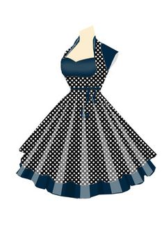 Rockabilly Retro Dress ... entered into a design contest at chicstar.com.  Trying to get more Rockabilly fashions at this website...swing by and vote if you like it..:P