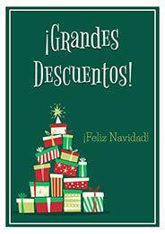 Cartel Grandes Descuentos Navidad Ofertas Navidad Comercio Carteles De Navidad Carteles De Tienda Vinilos Navidad