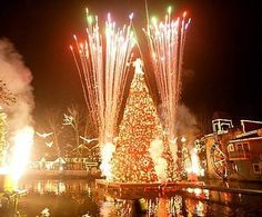 Carol of the Trees at Dollywood's Smoky Mountain Christmas Festival