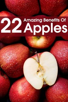 28 Amazing Benefits Of Apples For Skin, Hair And Health - love eating apples and appreciate the abundance of nutrients they provide #stayingfittogether