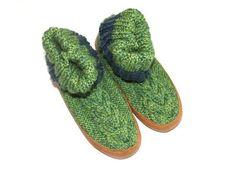 Hotsocks green - Ruby Brown -  www.legoutdescouleurs.be