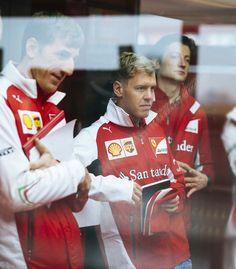 Sebastian Vettel, Ferrari Test, November 2014