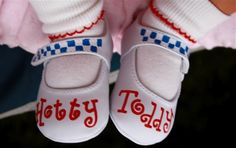 Ole Miss. Baby Hotty Toddy Shoes