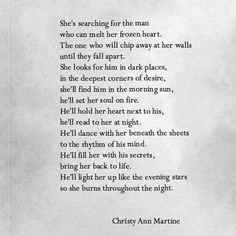 Image result for christy martine quotes
