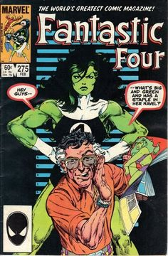Fantastic Four #275. Art by John Byrne