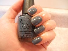 """OPI """"I Have A Herring Problem"""" Holland Collection. prettyyy."""